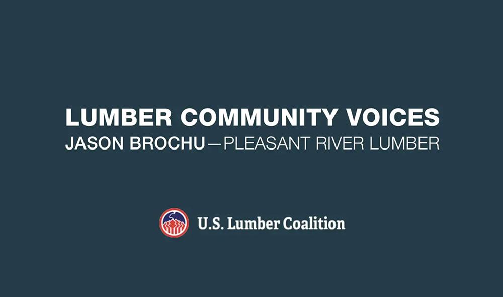 Lumber Community Voices: Jason Brochu